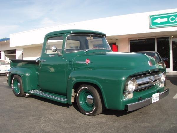 10: 1956 Ford F100 Custom Cab Automobile / Truck - ID#