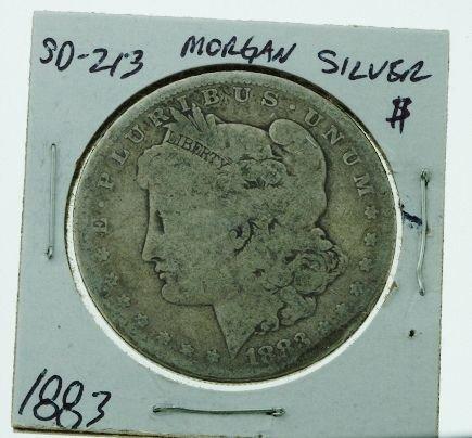 14: 1883 Morgan Silver Dollar SD213