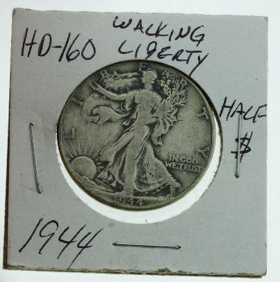 17: 1944 Walking Liberty Half Dollar HD160