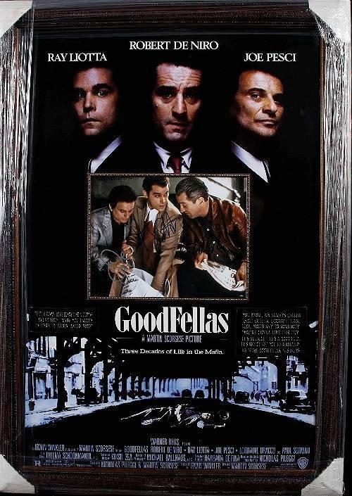 27: Good Fellas Autographed Movie Poster