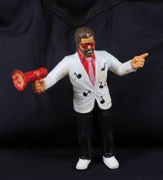 """30: Vintage 1980's Jimmy Hart 7"""" Wrestling Figurine"""