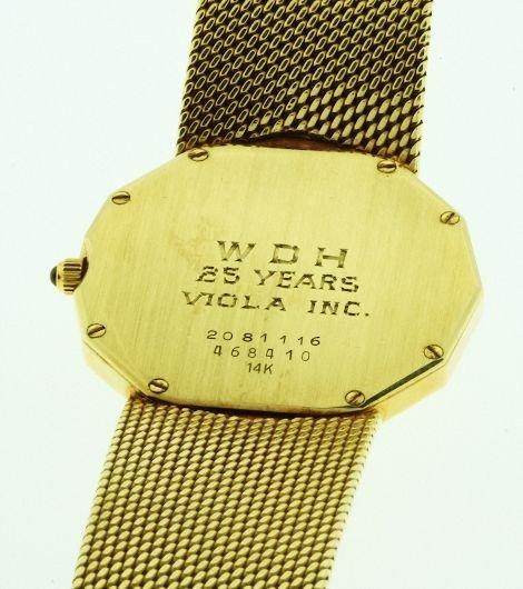 160: Men's Concord Watch 14kt Nine Quartz 69.03gm - W8 - 3