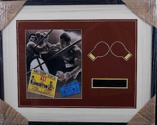 17: Ken Norton Jaw Breaker Autographed Photo Collage