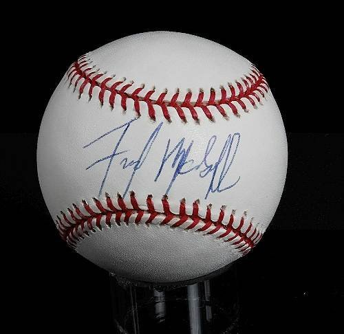 34: Fred McGriff Autographed Baseball