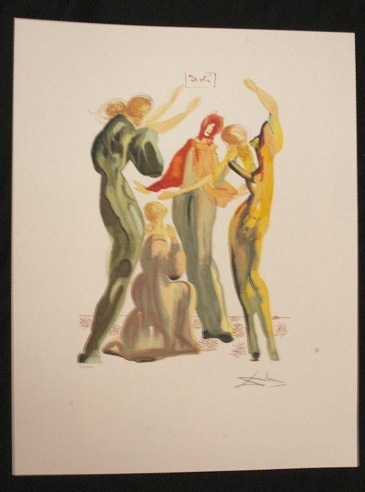 12: Salvador Dali La Danse Print