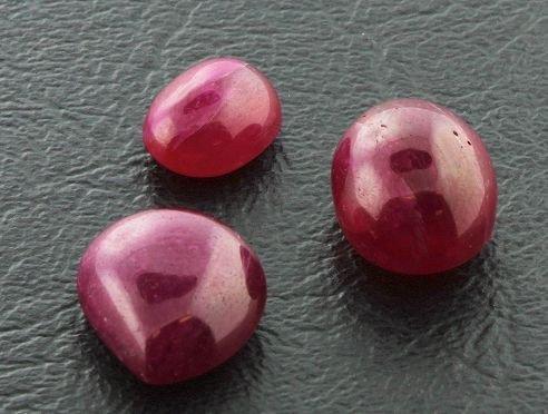 19: Ruby Parcel 3 Gemstones 35.35ctw DK31