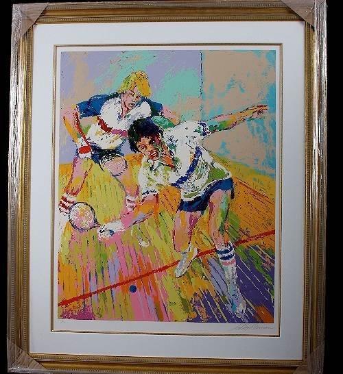 20: Leroy Neiman - Racquetball Autographed