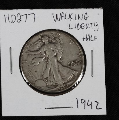 21: 1942 Walking Liberty Half Dollar HD277