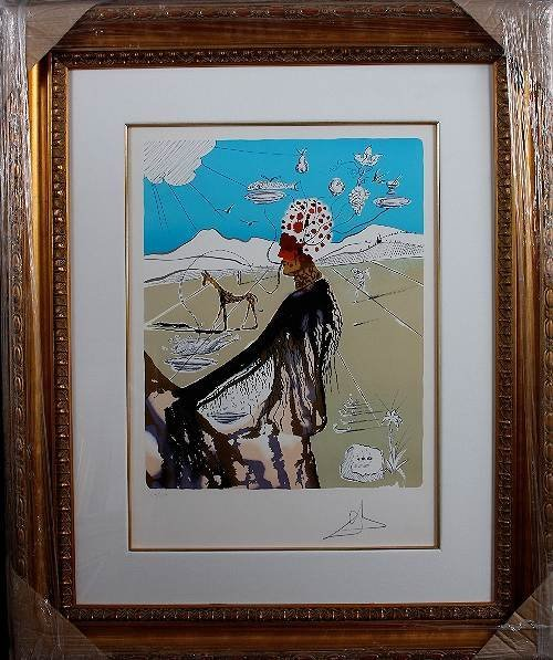 24: Salvador Dali - Earth Goddess Autographed