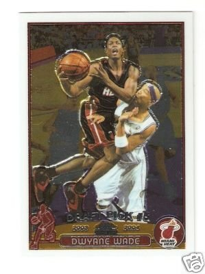9: 2003 Dwyane Wade Rookie Basketball Card