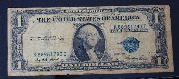 1: 1935 $1.00 Washington Silver Certificate PM270