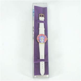 "Vintage Peter Max ""Liberty Head"" Watch with Original"