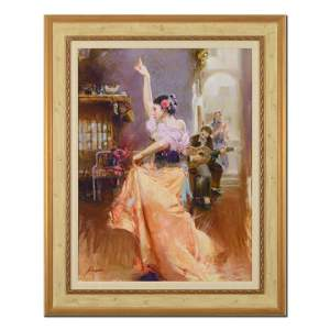 "Pino (1939-2010), ""Isabella"" Framed Limited Edition"