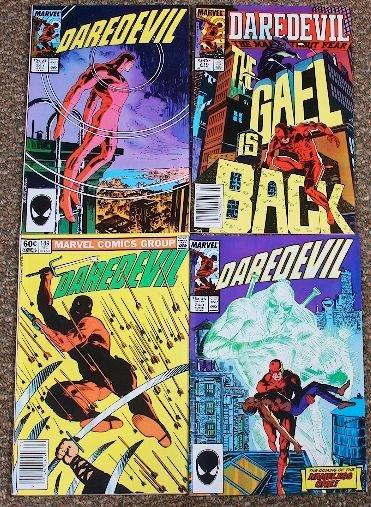 13: Daredevil Vintage Comic Books (4) CB117