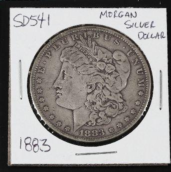 14: 1883 Morgan Silver Dollar SD541
