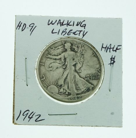 16: 1942 Walking Liberty Half Dollar HD91