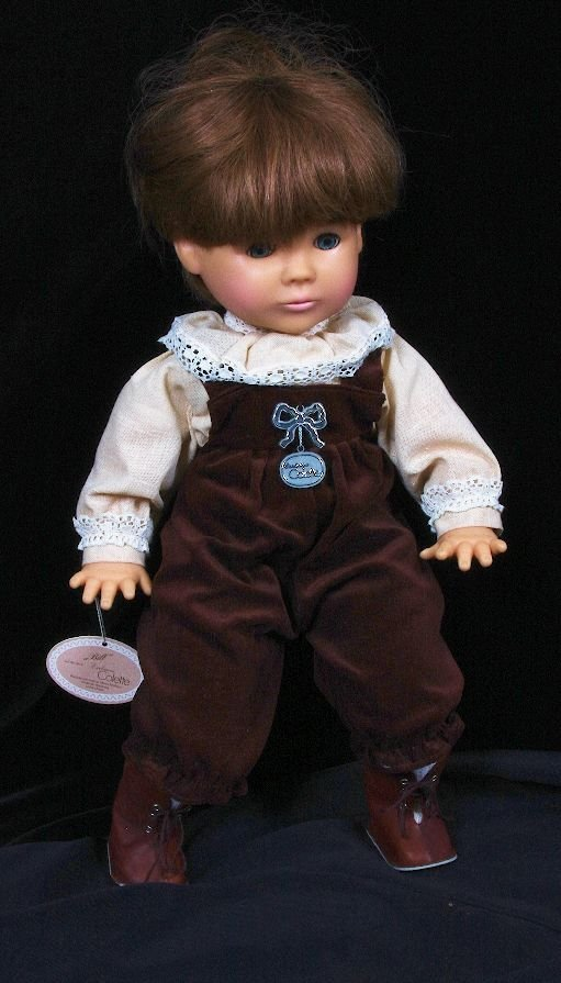 5: Vintage West German Collector's Doll from 40 year pr