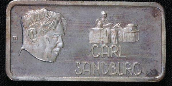 9: One Troy Oz. Pure Silver - Carl Sandburg #68