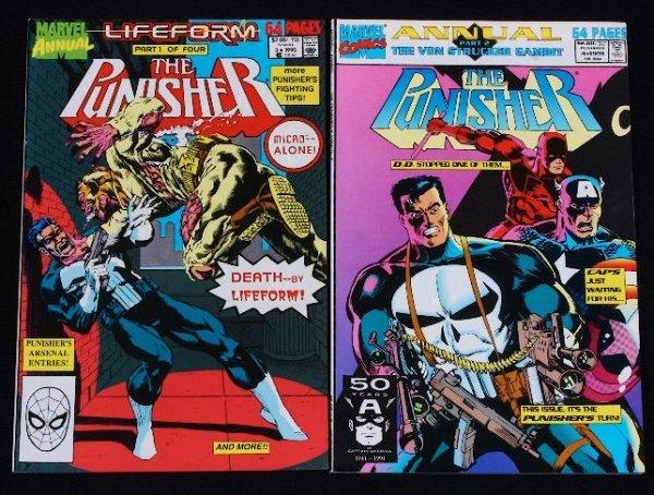 10: The Punisher Vintage Comic Books (2) CB49
