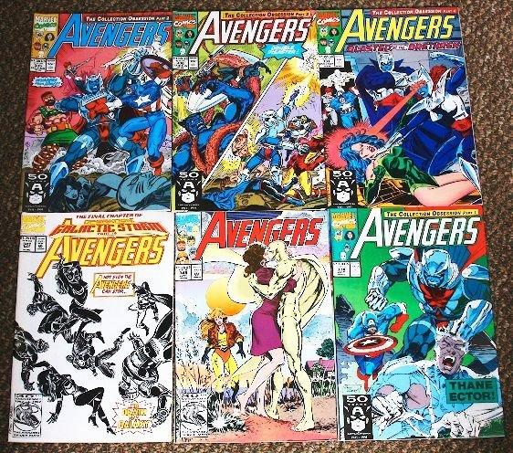 13: Avengers Vintage Comic Books Lot of (6) CB84