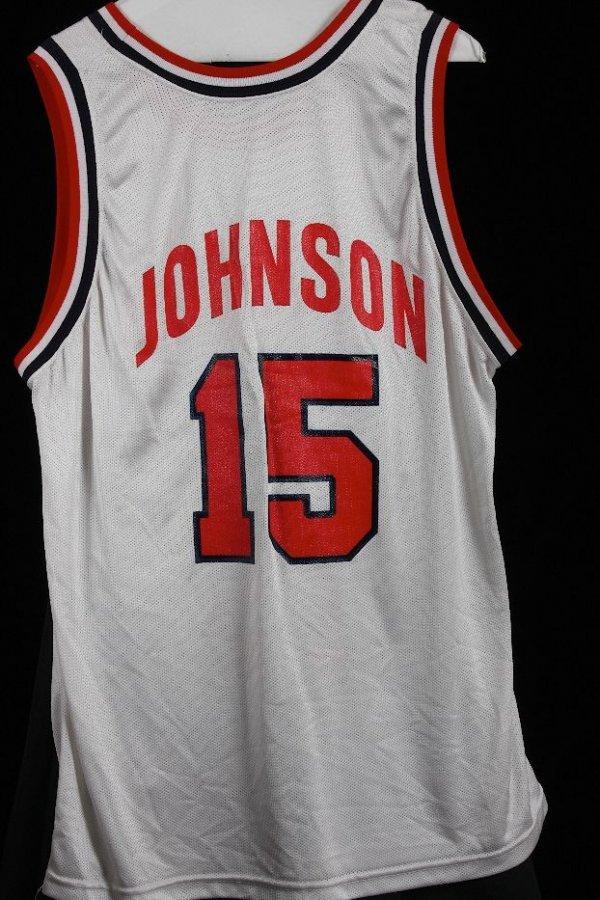 19: Magic Johnson Team USA Jersey - GG