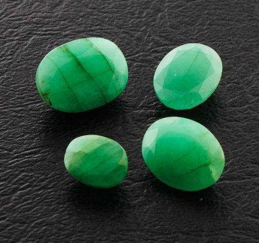 20: Emerald Parcel 4 Gemstones 20.11ctw DK373