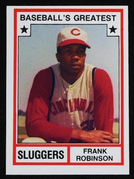 24: Vintage Baseball Card '83 TCMA Frank Robinson C130