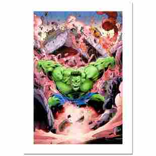 """Stan Lee Signed, """"Skaar: Son of Hulk #11"""" Numbered"""
