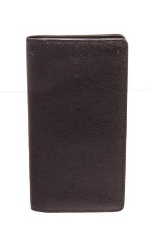 Louis Vuitton Black Monogram Long Wallet