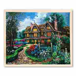 "Anatoly Metlan, ""Country Cottage"" Hand Signed Limited"