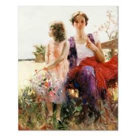 "Pino (1939-2010), ""Flower Basket Revisited"" Artist"