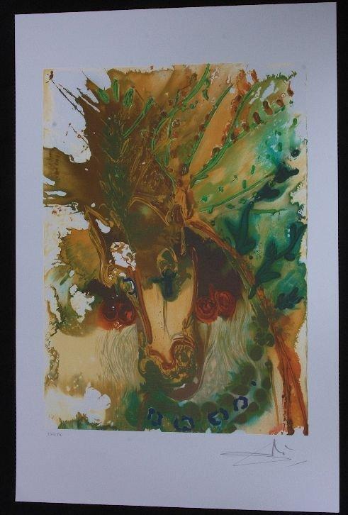 3: Salvador Dali - Alexander's Horse - Print