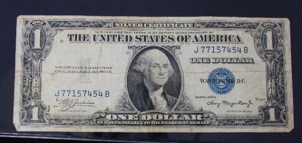15: 1935 $1.00 Washington Silver Certificate PM288