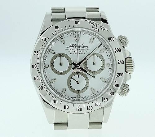 93: Rolex Daytona Series Men's Watch - W6 - 2