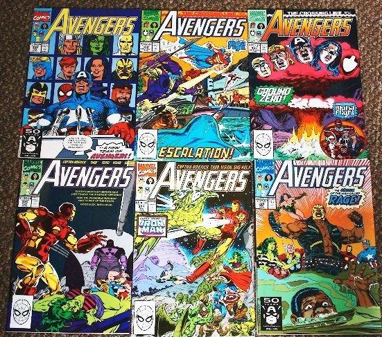19: Avengers Vintage Comic Books Lot of (6) CB83