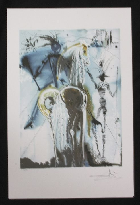 26: Salvador Dali Don Quichotie Print
