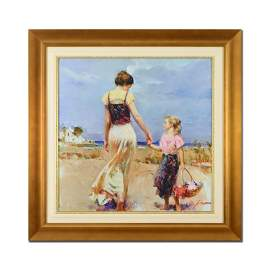 """Pino (1939-2010), """"Let's Go Home"""" Framed Limited"""