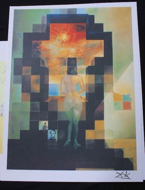 237: Salvador Dali - Lincoln in Dalivision - Print