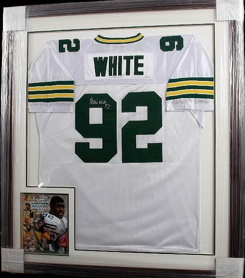 664: Reggie White Autographed Packers Jersey