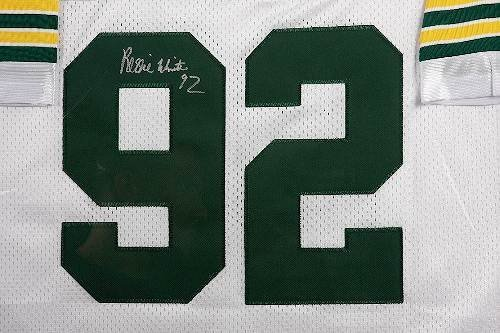 664: Reggie White Autographed Packers Jersey - 2