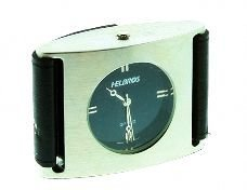 """25: Helbros Small Table Clock 3"""" with box H2"""