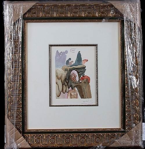 37: Salvador Dali - The Prevacators 22 Autographed