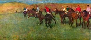Edgar Degas - Horse Race Before The Start