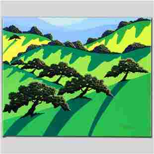 """""""A Gathering of Trees"""" Limited Edition Giclee on Canvas"""