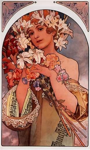 Alphonse Mucha - Flowers