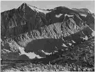 Adams - Peak above Woody Lake, Kings River Canyon
