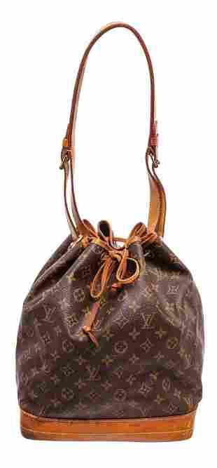 Louis Vuitton Brown Monogram Noe PM Shoulder Bag