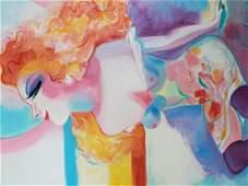 """ORIGINAL OIL """"Summer Mist"""" by Earl Linderman"""
