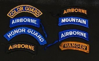 2: Lot of 8 Vintage Military War Patches