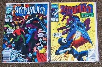 5: Sleepwalker Vintage Comic Books (2) CB209